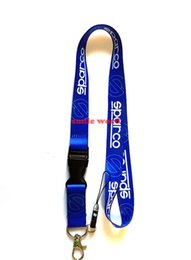 Cars Industries UK - New 10pcs Popular Lanyard 50 2cm Car brand Space Industries Removable Key Chains Badge Pendant Party Gift moble phone lanyards