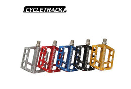 Bicycle Pedal Bearings Australia - HITO ck-208 pedal mountain bike aluminum alloy pedal 6 seal Palin bearing bicycle parts chrome molybdenum steel pedal
