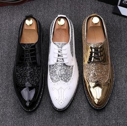 $enCountryForm.capitalKeyWord Australia - Man point toe dress shoe Italian designer mens dress shoes engrave luxury wedding shoes flats office for male Casual shoes 696.