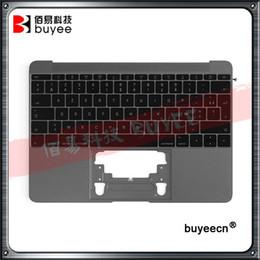 "$enCountryForm.capitalKeyWord Australia - Genuine New 12"" A1534 FR Palm Rest 2015 For Macbook Air Retina A1534 Palmrest Top Case Topcase French Keyboard With Backlight"
