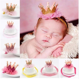 Girl s Head Accessories Hairband Baby Shiny Cute Princess Children Tiara  Hair Band Headband Kids Elastic Crown Headwear TO392 0533ccf0f0b3