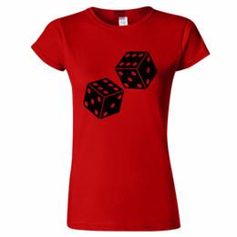 $enCountryForm.capitalKeyWord UK - LUCKY DICE DOUBLE SIX DESIGN WOMENS T SHIRT GAME GAMBLE 6 CASINO BETTING