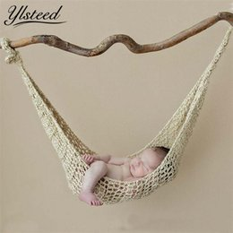 $enCountryForm.capitalKeyWord Australia - Crochet Hammock Newborn Baby Photography Props Crochet Baby Hanging Cocoon Photo Shoot Knitted Hanging Bed Fotografia Accessorie