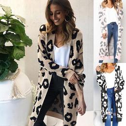 0f9c12ae0f3 Fair isle tricoté long femme Casual manteau de chandail d automne lâche  automne 2018 épais femmes outwear SJ3031