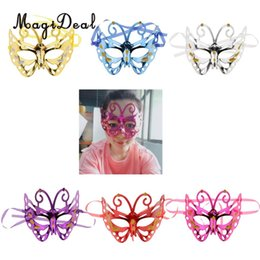 $enCountryForm.capitalKeyWord Australia - Butterfly Mask Halloween Full Face Breathbale Charming half Face Fancy Ball Festival Masquerade Cosplay Costume Cosplay Dance Party Supplies
