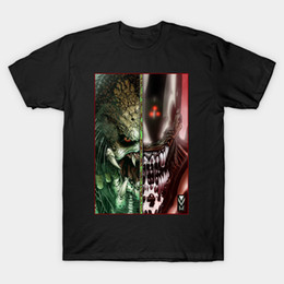 Vs Pink Shorts Canada - AVP ALIEN VS predator The AvP T-Shirt