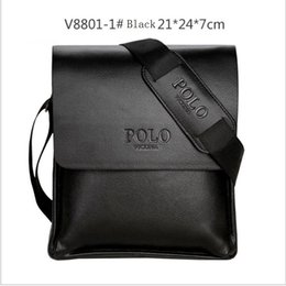 $enCountryForm.capitalKeyWord NZ - Wholesale- 2018 POLO Famous Brand Classic Design Leather Mens Messenger Bags Promotional Casual Business Man Bags Shoulder Bag Briefcase