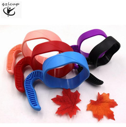 Kitchen cup holders online shopping - In stock Oz or Oz New Tumblers Holders Nonslip Plastic Cups Handles as Gadgets for Kitchen Home Travel