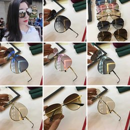 2e4d533b171 2283 Eyewear Luxury Brand Sunglasses GG2283 Elegant Special Designer With  pearl Circular Lens Top Quality Frame Come With Case