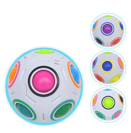 $enCountryForm.capitalKeyWord Australia - 7cm Rainbow Ball Magic Cube Speed Football Fun Creative Spherical Puzzles Kids Educational Learning Toy game for Children Adult Gifts