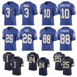 Men Custom College 13 Dan Marino Jersey Pittsburgh Panthers Pitt Football  24 James Conner 25 LeSean McCoy 25 Darrelle Revis 28 Dion Lewis c63074882