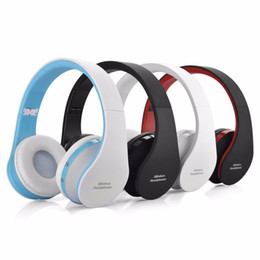 wireless headphones dhl 2019 - 2018 New NX-8252 Foldable wireless headphone bluetooth headphone headset sports running stereo Bluetooth V3.0+EDR with r