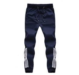 $enCountryForm.capitalKeyWord Canada - 2017 New Fashion Tracksuit Bottoms Mens Pants Cotton Sweatpants Mens Joggers Striped Pants Gyms Clothing Plus Size 5XL