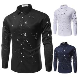 $enCountryForm.capitalKeyWord Canada - Men Shirt Mens Business Casual Shirts 2018 New Arrival Men Brand Clothing Print Long Sleeve Camisa Masculina Chemise Homme