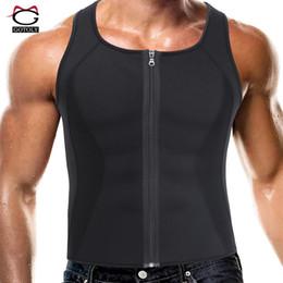 4971355e53db3 Fitness Sweat Vest Shapewear for Men Underwear Body Shapers Waist Trainer  Belly Shaper Tummy Control Slimming Corset