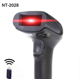 readers handhelds UK - High sensitive Wireless Barcode Scanner laser barcode reader scanner USB handheld wireless barcode reader for Supermarkets