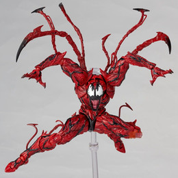 $enCountryForm.capitalKeyWord NZ - Marvel Red Venom Carnage in Movie The Amazing SpiderMan BJD Joints Movable Action Figure Model Toys