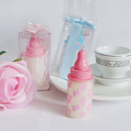 Wholesale 2018 Hotsale FEIS lovely feeding bottle candle baby shower party art candle cake accessory wedding favor
