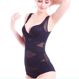 Postpartum Clothing UK - 2017 new solid color Siamese body sculpting clothing thin postpartum abdomen mention hip care chest body corset