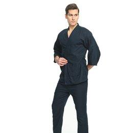 4a16d8bad0 Cotton Japanese Pajamas Mens Pajamas for Men Pijamas Hombre Men Pijama Cotton  Men s Pajamas Kimono New