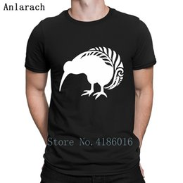 $enCountryForm.capitalKeyWord Australia - Nz Kiwi Silver Fern Bird New Zealand T-Shirt Designing Streetwear Funny Casual Tshirt For Men Summer Style Famous Hiphop Top