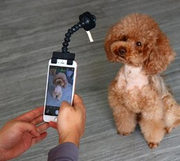 $enCountryForm.capitalKeyWord Australia - Pet Selfie Stick for Pets Dog Cat fit iPhone Samsung and Most Smartphone Tablet Black White