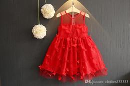50d73dfcbba0 2018 summer new Korean girls stereo flower dress princess skirt girl dress  skirt gauze gauze kids clothes