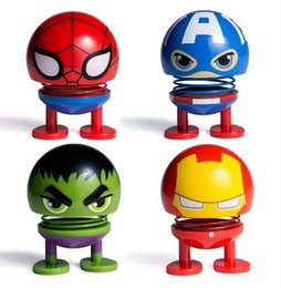 $enCountryForm.capitalKeyWord NZ - Squeeze Spring Toys Floating Iron Man Spider Captain America Bruce Banner Green Men Figure Antistress Super Hero Anime Figurine