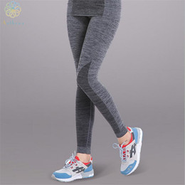 Yoga Pant Capri NZ - 2016 Exclusive Starter Section Dyeing Technology Women Sports Pants Capri Gym Fitness Running Yoga Trousers Spandex Tights