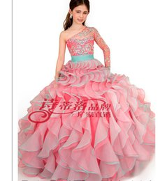 $enCountryForm.capitalKeyWord UK - Wholesalers Luxury Ball Gown Color Accented Organza Color diamond One shoulder Flower Party Evening Prom Dresses Ball gown Floor-length