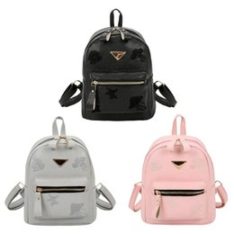 $enCountryForm.capitalKeyWord Canada - Fashion Zipper Backpack Women Small PU Leather Backpack Travel Casual Schoolbags for Teenager Girls Student Mini Daypacks 2018