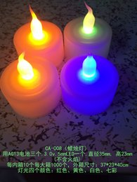 $enCountryForm.capitalKeyWord Australia - Factory direct sale LED light candle lamp, atmosphere candle lamp, church prayer decoration lamp, can customize the light color, custom pack
