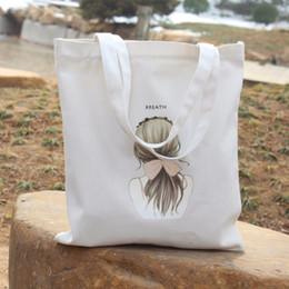 $enCountryForm.capitalKeyWord Canada - HIGHKING Environmental Protection Shopping Bags Women's Handbags Canvas Tote Student Books Storage Package Fashion Shoulder Bags