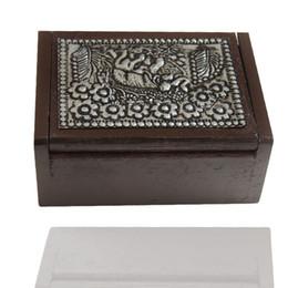 $enCountryForm.capitalKeyWord UK - Wood Toothpick Box Thailand Style Tin Elephant Shape Surface Handmade Crafts Elegant Toothpick Holders Free Shipping ZA6947