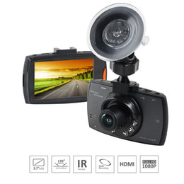 Night Vision Recording NZ - Car DVR Night Vision Dash Cam Full HD1080P 1200W Camera Wide Angle Lens Cycle recording Car Recorder With 2.7inch Screen