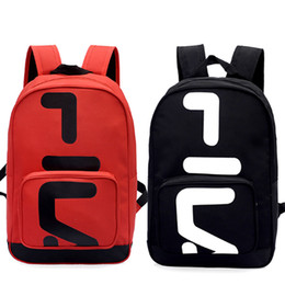 Wholesale Unisex FlLA Backpack Fashion Casual Camping Travel Bag Outdoor Backpack School Bag Computer Bag Good Quality