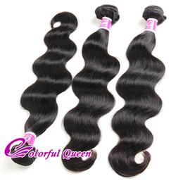 Cheap Human Hair Extensions 24 Inch Australia - Cheap Brazilian Virgin Hair Body Wave 3 Bundles Weave Wefts Unprocessed Human Hair Extension Natural Brazilian Hair Body Wave 8-30 Inches