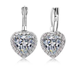 Gold Tone Rhinestones Dangle Earrings. Bright Fashion