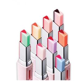 Discount korean lip tints - Fashion Korean Bite Lipstick V Cutting Two Tone Tint Silky Moisturzing Nourishing Lipsticks Lip Cosmetic