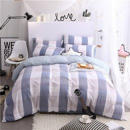 $enCountryForm.capitalKeyWord Canada - Duvet Cover Set Home Textile Bedding Skin Friendly Process Dyeing Washed Cotton Bed Sheet Quilt Cover 4pcs Bedding Set