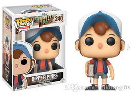 cheap gift boxes wholesale NZ - Cheap price New arrival xmas gift Funko Pop DIPPER PINES Vinyl Action Figure With Box Gift Toy Good Quality