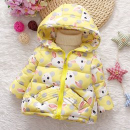 $enCountryForm.capitalKeyWord Australia - For winter baby girls birthday clothes outfits cotton jacket cartoon hooded outerwear newborn baby girls thick clothing coats