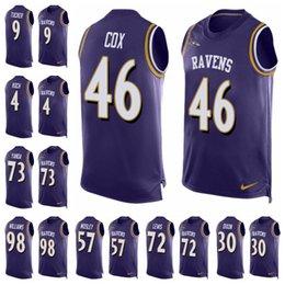 caea52dcefc Baltimore Limited football Jersey Ravens Purple Player Name   Number Tank  Top 9 Justin Tucker 5 Joe Flacco 57 C.J. Mosley 22