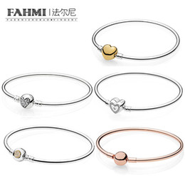 Love moment online shopping - FAHMI Sterling Silver Charm SHINE STERLING SILVER BANGLE WITH HEART CLASP Wishful Heart Moments Silver Bangle