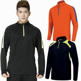 Venta al por mayor de Camiseta de running para hombre Ropa deportiva de manga larga Tenis Jogging baloncesto Fitness Tops Slim Fit ejercicio de gimnasio de secado rápido Camisas deportivas
