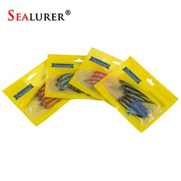 soft lures shad Canada - Soft Lure 6pcs lot 2.2g 75mm for Fishing Shad Worm Swimbaits Jig Head Soft Lure Fly Bait Fishing Lures