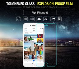 Iphone Glass Screen Guard Australia - Glass For iphone 6s Tempered Glass For Apple iphone 6 Screen Protector For iPhone6 4.7 Film Explosion-Proof Guard Front Film