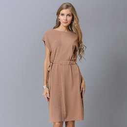 ebca5b4b10d 2018 NEW Solid color Women Knitting Sweater Dress Summer Fall Long Sexy  Dresses Loose Casual Solid Color Dress Streetwear 038