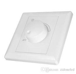 Venta al por mayor de AC110 / 220V Controlador regulable de silicio Regulador de luz LED 630 W Controlador ajustable Interruptor de apagado para proyector downlight regulable