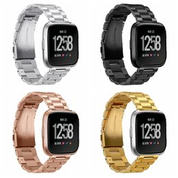 $enCountryForm.capitalKeyWord NZ - FC0196 Fitbit Versa Watch Bands Metal, Stainless Steel Bracelet Accessory Replacement Strap Wristband for Fitbit Versa Smartwatch